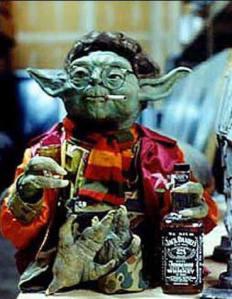 """Flavinho recorre aos conselhos do sábio. """"Por que morar sozinho você quer?"""", indagou o sóbrio Yoda ao jovem padawan"""